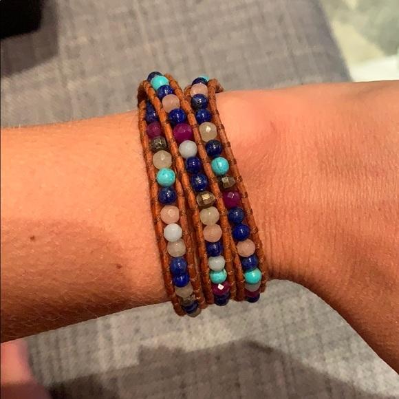 Chan Luu Jewelry - Triple wrap Chan Luu bracelet